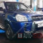 Замена стоек стабилизатора Hyundai Tucson