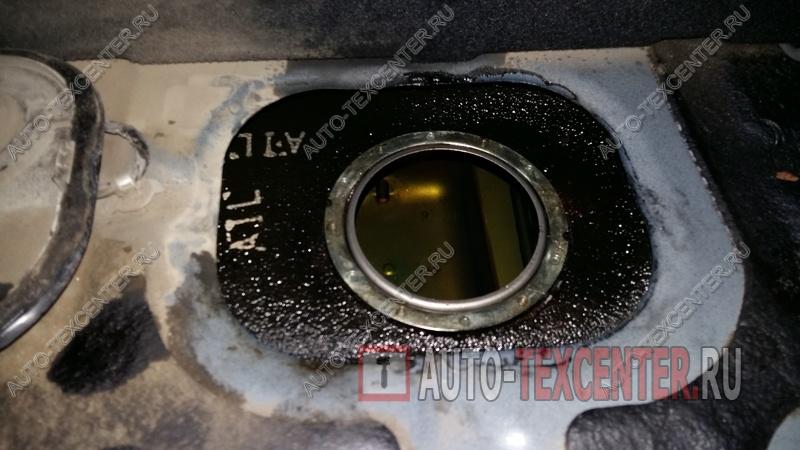 замена топливного фильтра Киа Опирус