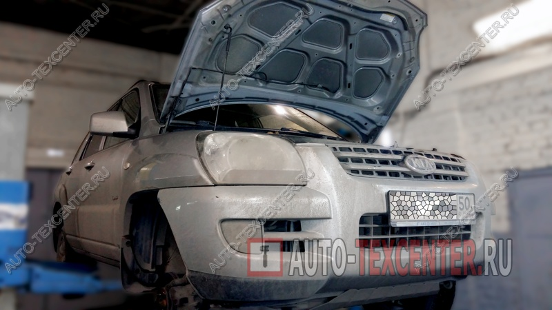 Ремонт генератора Kia Sportage (1)