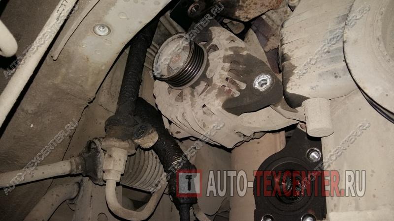 Ремонт генератора Kia Sportage (2)
