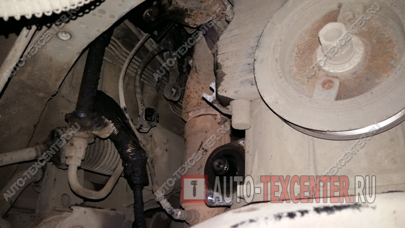Ремонт генератора Kia Sportage (3)