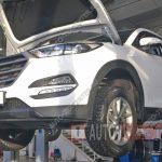 Замена масла в двигателе Hyundai Tucson