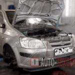 Замена помпы Hyundai Getz