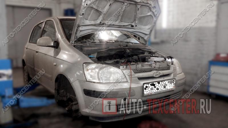 Замена помпы Hyundai Getz (1)