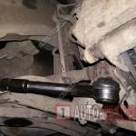 Замена рулевых тяг и наконечников Kia Carens