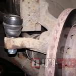 Замена рулевых тяг и наконечников Kia Sephia