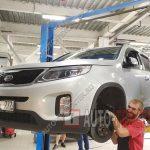 Замена рулевых тяг и наконечников Kia Sorento 2