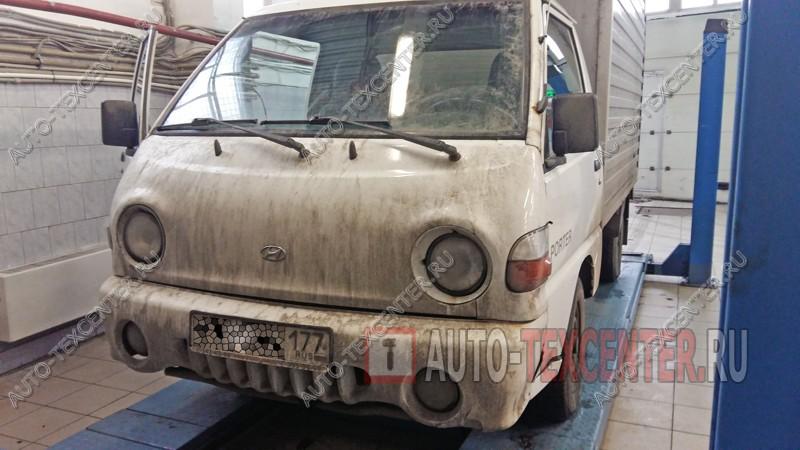 Замена педального узла Hyundai Porter (1)