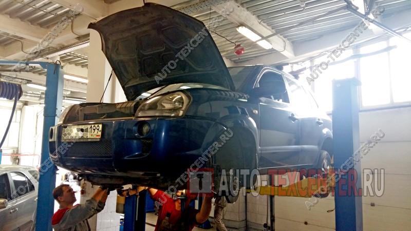 Замена сцепления Hyundai Tucson