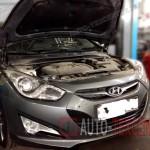 Плановое ТО Hyundai I40 №1 (15 000 км)