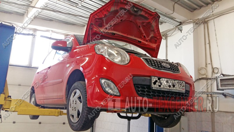 Замена масла в АКПП Kia Picanto (1)