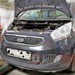 Замена масла в двигателе Kia Venga