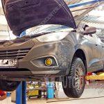 Замена масла в раздатке Hyundai IX35
