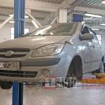 Замена пыльника ШРУСа Hyundai Getz