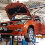 Диагностика Hyundai Solaris 1 FL