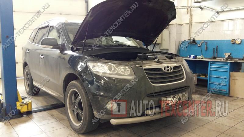 Замена амортизаторов Hyundai Santa Fe