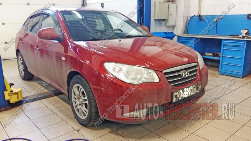 Замена шаровых опор Hyundai Elantra