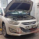 Плановое ТО Hyundai I40 №5 (75 000 км)