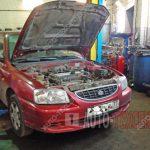 Замена АКПП Hyundai Accent