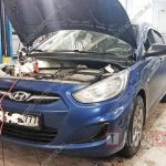 Замена масла Hyundai Solaris