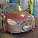 Замена масла Hyundai Verna