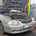Замена опорных подшипников Hyundai Accent