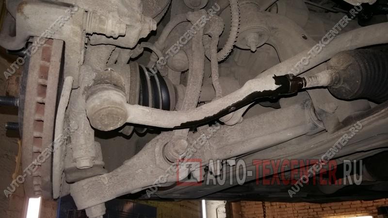 замена рулевых наконечников Киа Опирус