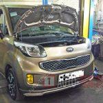 Замена масла в двигателе Kia Ray