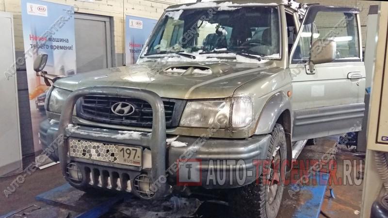 Замена мотора печки Hyundai Galloper