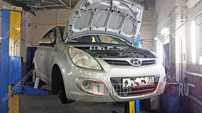 Замена опорных подшипников Hyundai I20
