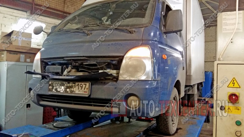 Замена подшипника ступицы Hyundai Porter