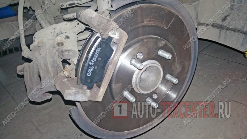 замена тормозных дисков Киа Сид