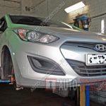 Замена тормозных колодок и дисков Hyundai I30