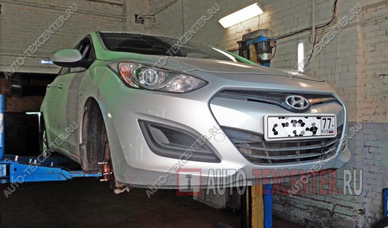Замена тормозных колодок Hyundai I30