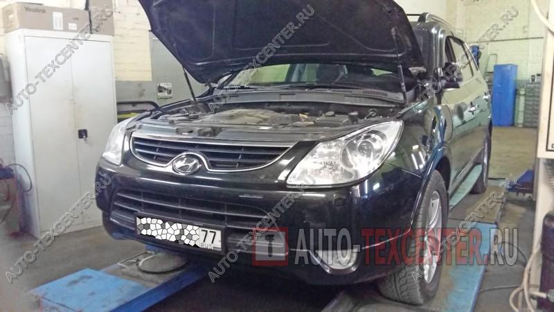 Промывка радиатора Hyundai IX55