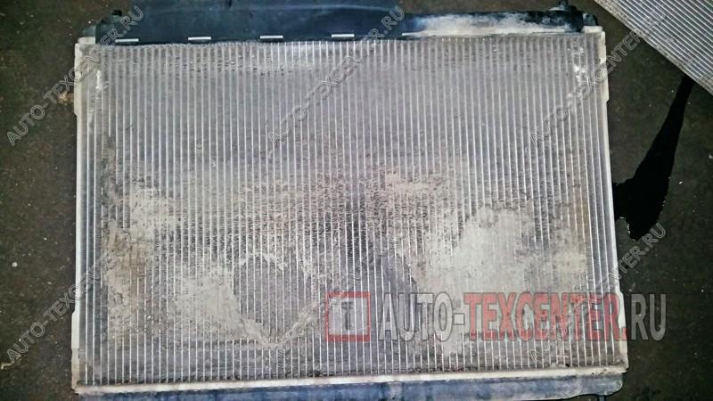 забитый грязью радиатор Hyundai IX55