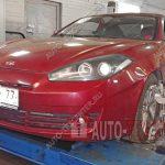 Сход развал Hyundai Coupe