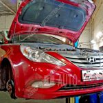 Замена пружин и амортизаторов Hyundai Sonata