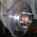 Замена тормозных дисков Kia Venga