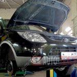 Замена насоса ГУР Hyundai IX55