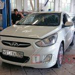 Замена расширительного бачка Hyundai Solaris