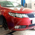 Замена рулевой рейки Kia Cerato