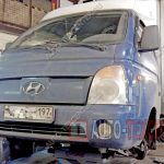Замена тормозных колодок Hyundai Porter