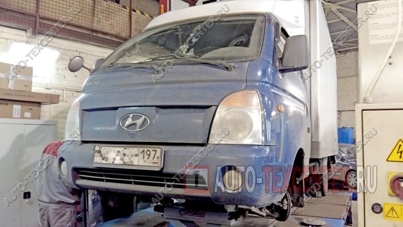Замена тормозных колодок Hyundai Porter 2