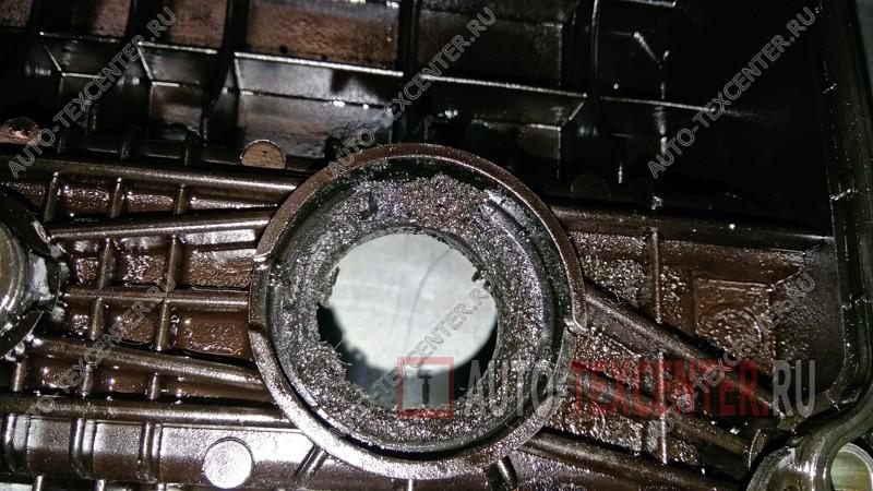 Замена клапанной крышки Kia Spectra