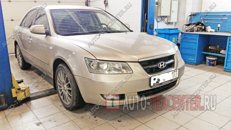 Замена рычагов Hyundai Sonata