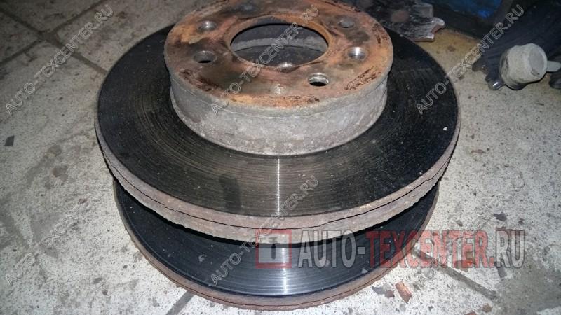 замена тормозных дисков Хендай Акцент