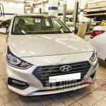Замена антифриза Hyundai Solaris