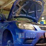 Замена втулок стабилизатора Kia Rio