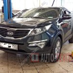 Профилактика тормозных суппортов Kia Sportage